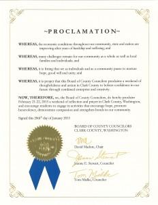 Proclamation 150122